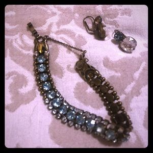 Sorelli bracelet and earrings